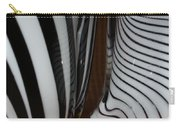 Zebra Glass Carry-all Pouch