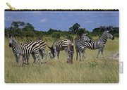 Zebra Group Carry-all Pouch