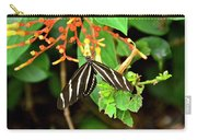 Zebra Longwing On Firebush  Carry-all Pouch