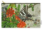 Zebra Swallowtail Carry-all Pouch