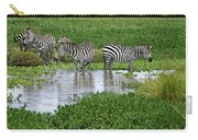 Zebras In The Swamp Carry-all Pouch