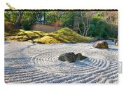 Zen Garden At A Sunny Morning Carry-all Pouch