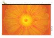 Zinnia Flower, X-ray Carry-all Pouch