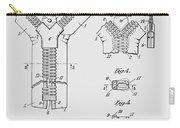 Zipper Patent Art  Carry-all Pouch