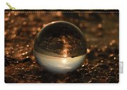 10-17-16--8585 The Moon, Don't Drop The Crystal Ball, Crystal Ball Photography Carry-all Pouch