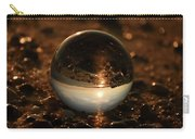10-17-16--8590 The Moon, Don't Drop The Crystal Ball, Crystal Ball Photography Carry-all Pouch