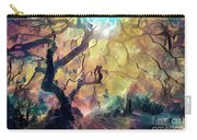 10 Abstract Japanese Maple Tree Carry-all Pouch