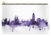 Barcelona Spain Skyline Carry-all Pouch