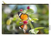 Butterfly Carry-all Pouch by Richard J Thompson
