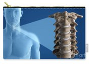Cervical Vertebrae Carry-all Pouch