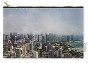 Chicago Skyline Aerial Photo Carry-all Pouch