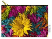 Daisy Petals Abstracts Carry-all Pouch