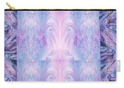 Floral Abstract Design-special Silk Fabric Carry-all Pouch