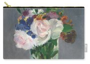 Flowers In A Crystal Vase Carry-all Pouch