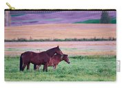 Horses Of The Fall Carry-all Pouch