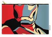 Iron Man Carry-all Pouch by Caio Caldas