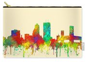 Jacksonville Florida Skyline Carry-all Pouch