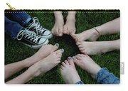 10 Kids Feet Carry-all Pouch