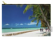 Main Beach Of Tropical Paradise Boracay Island Philippines Carry-all Pouch