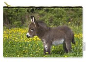 Miniature Donkey Foal Carry-all Pouch