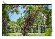 Palmetto Forest On Hunting Island Beach Carry-all Pouch