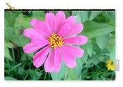 Pink Zinnia Carry-all Pouch