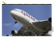 Qatar Airlines Airbus A380 Carry-all Pouch