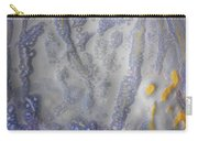10. Speckled Blue And Yellow Glaze Painting Carry-all Pouch