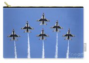 Us Air Force Thunderbirds Flying Preforming Precision Aerial Maneuvers Carry-all Pouch