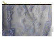 10. V1 Speckled Blue And Yellow Glaze Painting Carry-all Pouch