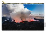Volcano Eruption At The Holuhraun Carry-all Pouch