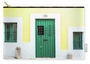 Wooden Door In Old San Juan, Puerto Rico Carry-all Pouch
