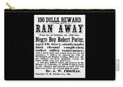 100 Dolls. Reward Ran Away Carry-all Pouch