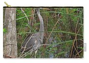 100- Great Blue Heron Carry-all Pouch