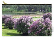 103 Mile Lake Lilacs Carry-all Pouch