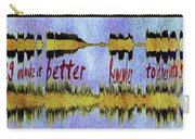 10975 Hey Jude By The Beatles With Lyrics Carry-all Pouch