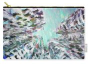 Abstract Digital Oil Painting Full Of Texture And Bright Color Carry-all Pouch