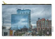 Atlanta Downtown Skyline Scenes In January On Cloudy Day Carry-all Pouch