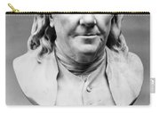 Benjamin Franklin (1706-1790) Carry-all Pouch