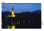 Dusk Over Lake Bled Carry-all Pouch