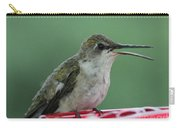 Female Ruby-throated Hummingbird Carry-all Pouch