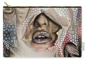 Hidden Face With Lipstick Carry-all Pouch