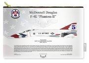 Mcdonnell Douglas F-4e Phantom II Thunderbird Carry-all Pouch