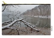 The Bass River In Winter Carry-all Pouch