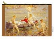 Tuke Henry Scott Ruby Gold And Malachite Henry Scott Tuke Carry-all Pouch
