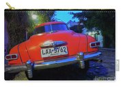 Vintage Car In Colonia Del Sacramento, Uruguay Carry-all Pouch