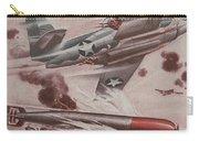 World War II Advertisement Carry-all Pouch