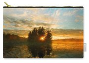Nature Art Original Landscape Paintings Carry-all Pouch