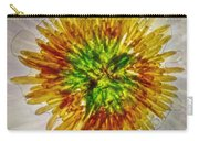 11262 Flower Abstract Series 02 #16a Carry-all Pouch
