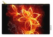 112775 Flowers Fire Carry-all Pouch